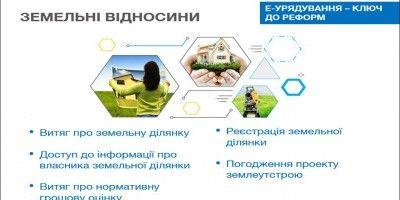 Погодження проектів землеустрою онлайн на e.land.gov.ua