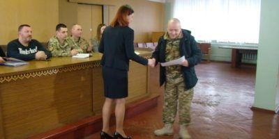 Військовослужбовці 72-ї окремої механізованої бригади отримали земельні ділянки в...